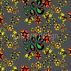Floral Fun Seamless Vector Pattern Design