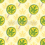 Lollipops für Erwachsene Nahtloses Vektormuster