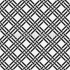 Weaved Ribbons Seamless Vector Pattern