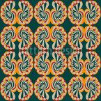 Caracol Conchas Com Patina Design de padrão vetorial sem costura