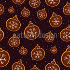 Christmas Decoration Cookies Seamless Vector Pattern Design