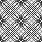 Abstrakte Labyrinth Nahtloses Vektormuster