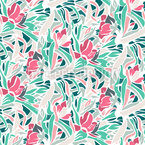 Natural Branching Seamless Pattern