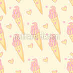 Cute Ice Cream Repeat Pattern