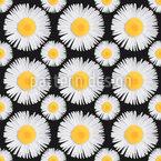 Meine Lieblingsblume Nahtloses Vektormuster