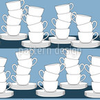 To Pile Cups Pattern Design