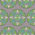 Ethno Mandala Kreise Designmuster