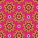 Lovely Fantasyflowers Seamless Vector Pattern Design