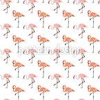 Pinker Flamingo Vektor Muster