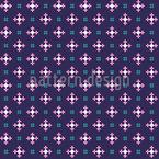 Formas de píxeles lindas Estampado Vectorial Sin Costura