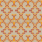 Venice Square Shapes Seamless Vector Pattern Design