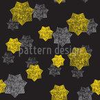 Filigrane Sterne Rapportmuster