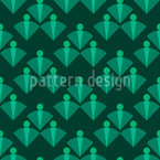 Público Design de padrão vetorial sem costura