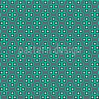 Nette Quadratische Pixel-Formen Rapport