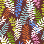 Fern Ornaments Design Pattern
