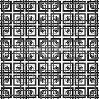 Chinese Window Lattice Seamless Vector Pattern Design