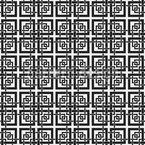 Chinesisches Fenster Gitter Nahtloses Muster