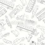 Doodle Autos Vektor Design