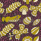 Forest Bugs Pattern Design