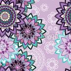 曼荼羅星 シームレスなベクトルパターン設計