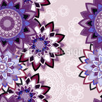 Florale Schichten Nahtloses Muster