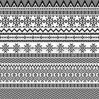 Broderie Tribal Motif Vectoriel Sans Couture