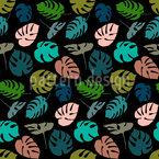 Monstera Leaves Pattern Design