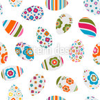 Painted Easter Eggs Design Pattern