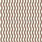 Chevron Triple entrelazado Estampado Vectorial Sin Costura