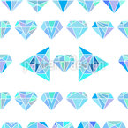 Diamantes dimensionales Estampado Vectorial Sin Costura
