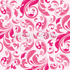 Floral Damask Seamless Vector Pattern Design