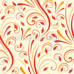 Opulent Fire Repeating Pattern