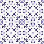 Grouped To Rhombuses Seamless Vector Pattern Design