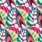 Boho Drops Seamless Vector Pattern Design
