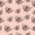 Fliegende Biene Vektor Design