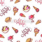 Delicious Dessert Seamless Vector Pattern Design
