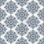 Baroque Eye Seamless Vector Pattern Design