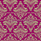Purple Opulence Seamless Vector Pattern Design