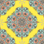 Baroque Zeitgeist Seamless Vector Pattern Design