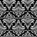 Black Opulence Seamless Vector Pattern Design