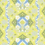Baroque frais Motif Vectoriel Sans Couture