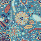 Majestic Bug Repeat Pattern
