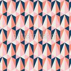 Dreieckig Und Retro Nahtloses Vektormuster