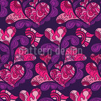 Dreaming Of Love Seamless Vector Pattern Design