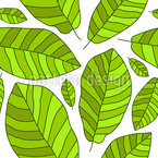 Banana Leaf Pattern Design