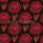 Rose Essence Seamless Vector Pattern
