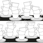 Storage Of Cup Vector Design