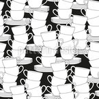 Piled Cups Pattern Design