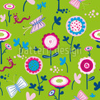 Cheerful Meadow Seamless Pattern