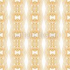 Delicate Ornamental Stripes Seamless Vector Pattern